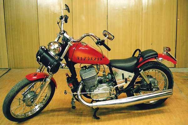 Тюнинг мотоцикла иж планета спорт 30 03